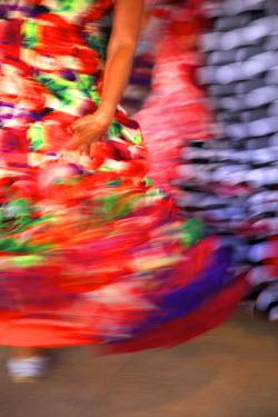 ES03126 Flamenco Dancers, Jerez de la Frontera, Cadiz Province, Andalusia, Spain