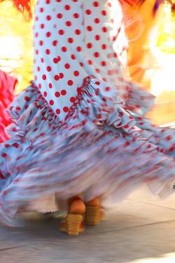 ES03135 Flamenco Dancers, Jerez de la Frontera, Cadiz Province, Andalusia, Spain