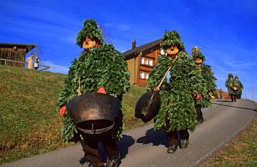HMS0360763 Switzerland, Appenzell Innerrhoden, Urnasch, SylvesterKlause festival, the turn of the Naturals