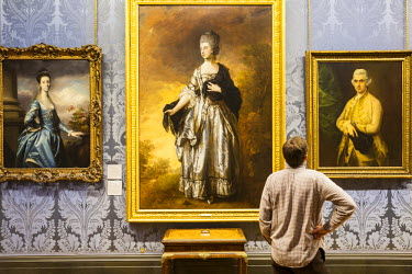 HMS0202398 United Kingdom, Liverpool, Walker Art Gallery, room dedicated to the 18th century English painters
