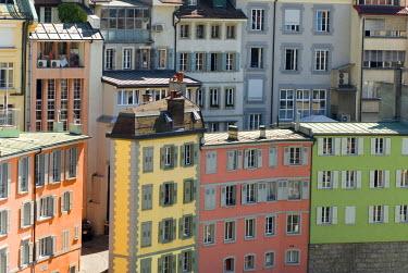 HMS0566968 Switzerland, Canton of Vaud, Lausanne, neighborhood Rutillon