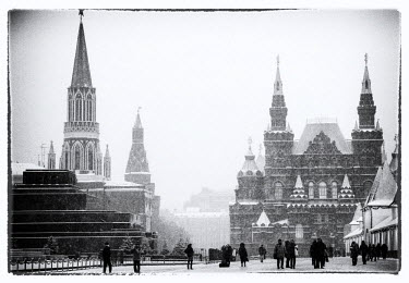 RUS1866AW Red Square, Moscow, Russia