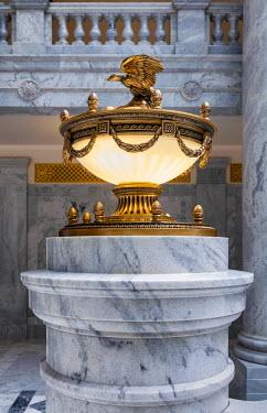 USA9309AW U.S.A., Utah, Salt Lake City, Utah State Capitol Building