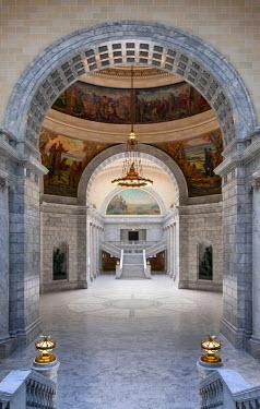 USA9311AW U.S.A., Utah, Salt Lake City, Utah State Capitol Building