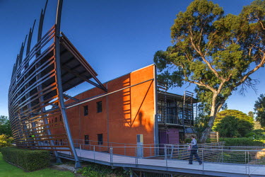 AS02096 Australia, South Australia, Adelaide, National Wine Centre of Australia, exterior, dawn