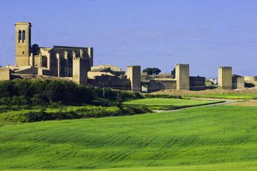 HMS0661270 Spain, Navarra, Artajona, the fortress, dated 11th century