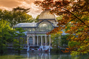 SPA5636AW Palacio de Cristal, Buen Retiro Park, Madrid, Comunidad de Madrid, Spain