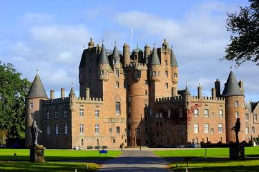 HMS0376002 United Kingdom, Scotland, Angus, Glamis Castle