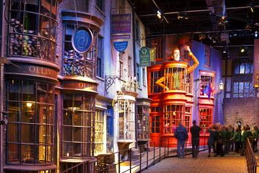 HMS0810293 United Kingdom, London, Hertfordshire, Leavesden, Leavesden Film Studios, Harry Potter Studio Tour London, the scene of the eight Harry Potter movies' making of, Diagon alley