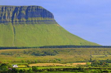 HMS0817597 Ireland, County Sligo, Yeats country, Ben Bulben mountain
