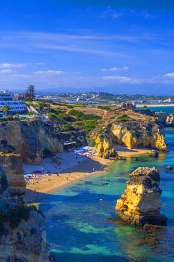 PT06166 Portugal, Algarve, Lagos, Dona Ana Beach (Praia Dona Ana)