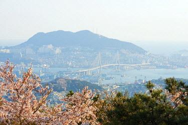 SKO0113 Asia, Republic of Korea, South Korea, Busan, city skyline