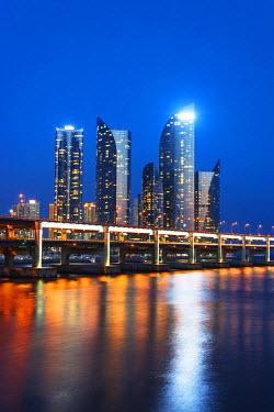 SKO0118 Asia, Republic of Korea, South Korea, Busan, city skyline