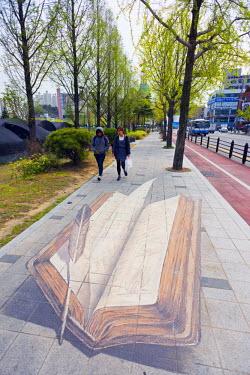 SKO0126 Asia, Republic of Korea, South Korea, Busan, street art