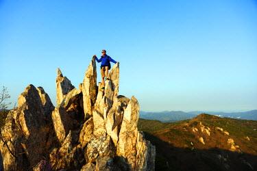 SKO0130 Asia, Republic of Korea, South Korea, Busan, nature reserve mountains (MR)
