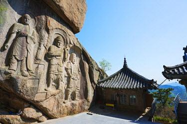 SKO0134 Asia, Republic of Korea, South Korea, Busan, Seokbulsa temple