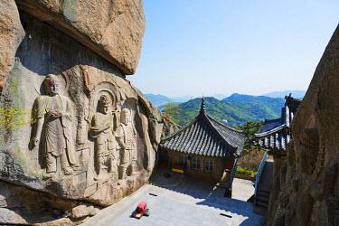 SKO0135 Asia, Republic of Korea, South Korea, Busan, Seokbulsa temple
