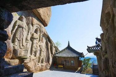 SKO0136 Asia, Republic of Korea, South Korea, Busan, Seokbulsa temple