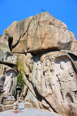 SKO0137 Asia, Republic of Korea, South Korea, Busan, Seokbulsa temple