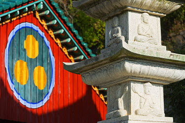 SKO0139 Asia, Republic of Korea, South Korea, Busan, Seokbulsa temple