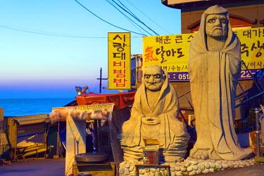 SKO0149 Asia, Republic of Korea, South Korea, Busan, Haedong Yonggungsa temple