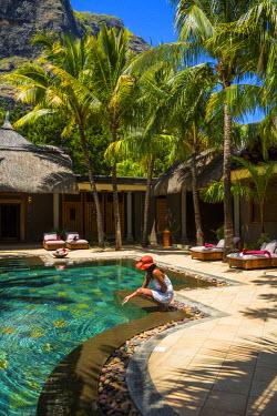 MA01258 The Spa at Beachcomber Dinarobin Hotel, Le Morne Brabant Peninsula, Black River (Riviere Noire), West Coast, Mauritius (MR)