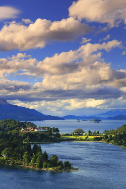 AR02369 Argentina, Patagonia, Bariloche, Nahuel Huapi National Park, Llao Lllao historic Hotel