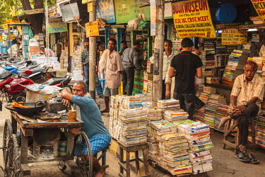 AS10ALA0178 India, West Bengal, Kolkata, Bookstore at college street