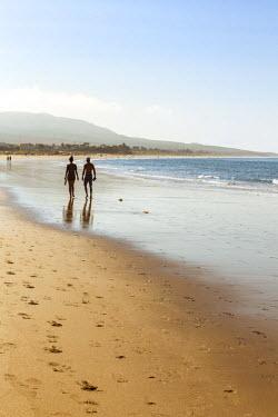 SPA5946AW Spain, Andalusia, Cadiz province, Costa de la Luz, Bolonia.  The beach