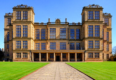 ENG11710AW Europe, England, Derbyshire, Chesterfield, Hardwick Hall