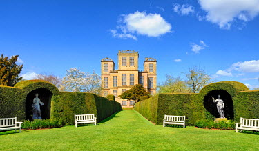 ENG11711AW Europe, England, Derbyshire, Chesterfield, Hardwick Hall
