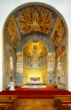 ENG11732AW Europe, England, Lancashire, Rochdale, St. John the Baptist RC Church