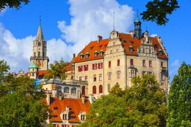 DE05213 Sigmaringen Castle, Swabia, Baden Wurttemberg, Germany, Europe