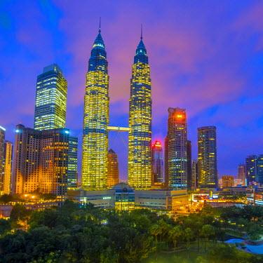 MY01291 Malaysia, Kuala Lumpur, Petronas Towers