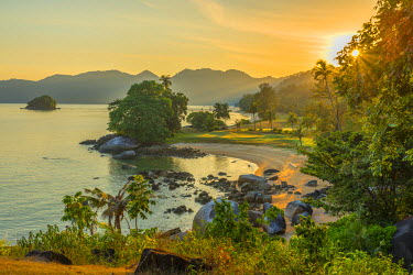MY02155 Malaysia, Pahang, Pulau Tioman (Tioman Island), Berjaya Beach, Berjaya Tioman Resort, Golf Course