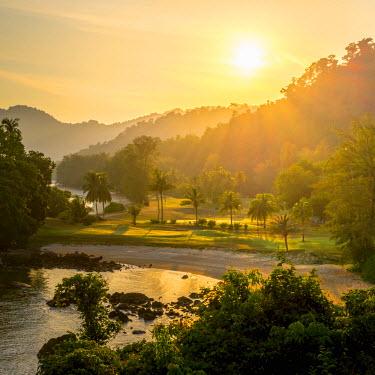 MY02156 Malaysia, Pahang, Pulau Tioman (Tioman Island), Berjaya Beach, Berjaya Tioman Resort, Golf Course