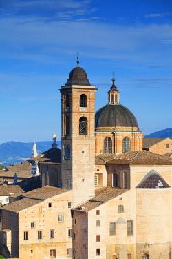 ITA3257AW Duomo (Cathedral), Urbino (UNESCO World Heritage Site), Le Marche, Italy