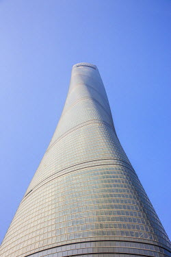 CN03519 Shanghai Tower (2nd tallest building in the world in 2014), Lujiazui, Pudong, Shanghai, China