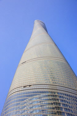 CN03520 Shanghai Tower (2nd tallest building in the world in 2014), Lujiazui, Pudong, Shanghai, China