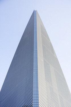 CN03524 Shanghai World Finance Center (housing the Park Hyatt Hotel), Lujiazui, Pudong, Shanghai, China