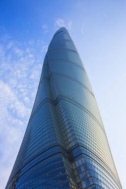 CN03526 Shanghai Tower (2nd tallest building in the world in 2014), Lujiazui, Pudong, Shanghai, China