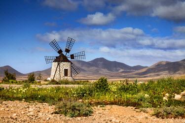 SPA6081AW Wind mill, Molino de Tefía, Tefia, Fuerteventura, Canary Islands, Spain