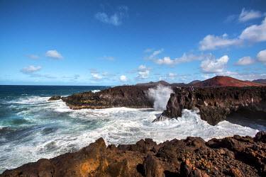 SPA6205AW Cliffs, Los Hervideros, Lanzarote, Canary Islands, Spain