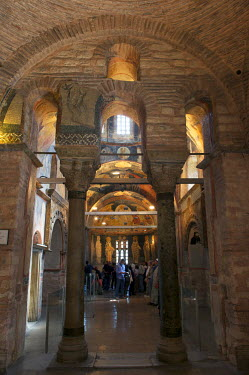 HMS0531047 Turkey, Istanbul, historical centre listed as World Heritage by UNESCO, former Byzantine Church of Kariye Camii (Chora Church) converted into a museum