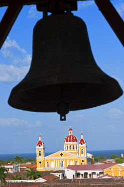 NIC0195 Nicaragua, Granada. The Cathedral of Granada.