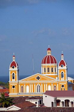 NIC0197 Nicaragua, Granada. The Cathedral of Granada.