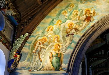 SCO33287AW Europe, Scotland, Edinburgh, St Marys Metropolitan Cathedral