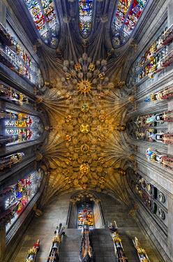 SCO33298AW Europe, Scotland, Edinburgh, St Giles Cathedral