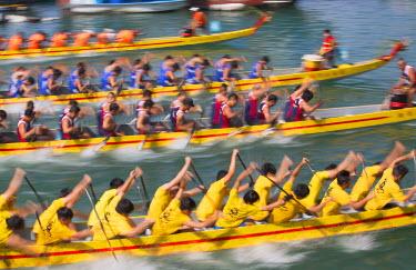 CH10354AW Dragon boat race, Shau Kei Wan, Hong Kong Island, Hong Kong