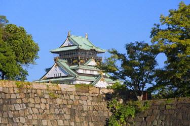 JAP0644AW Osaka Castle, Osaka, Kansai, Japan